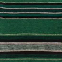 Cushion cover / Pillowcase 46x46 29L stripe forest green