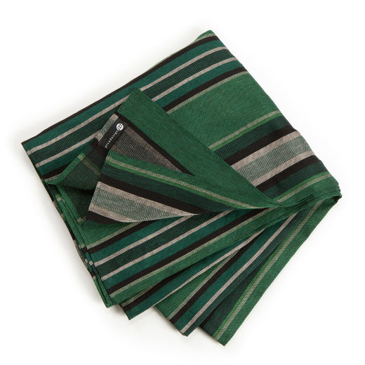 Tablecloth 270 light 29L stripe forest green