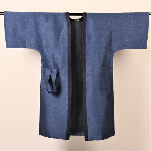 Bathrobe 006s ocean blue