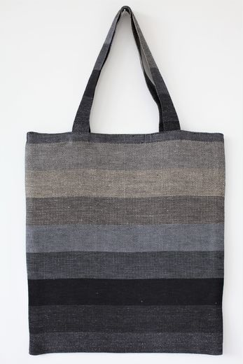 Tote bag 012s carbon stripes