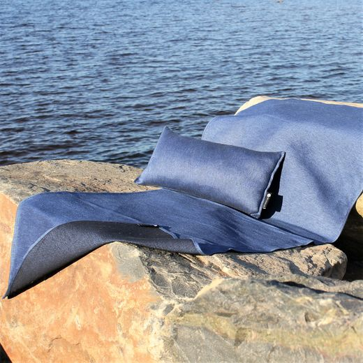 Seat cover, large 60x180 006s ocean blue