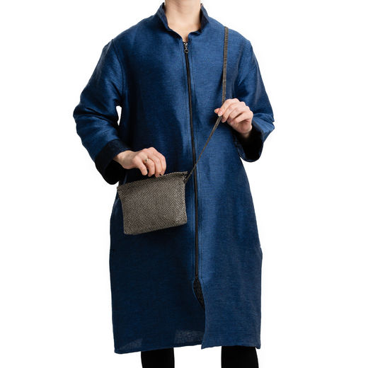 Pisa Design Jacket, hidden pockets 006s ocean blue
