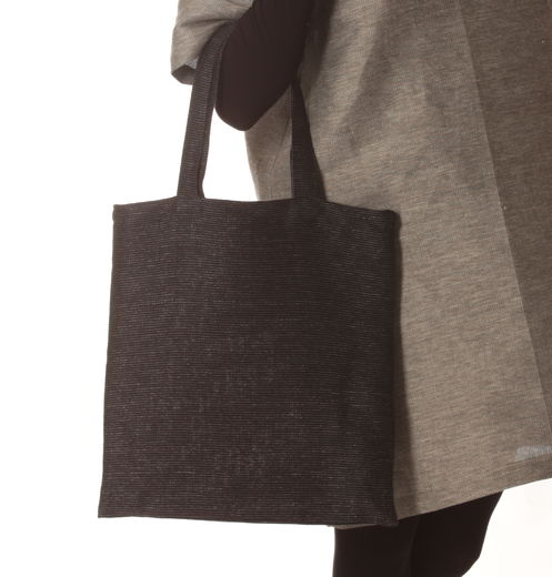 Tote Bag 122s black-grey