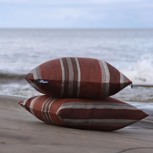 Cushion cover 46x46, 39L stripe ground