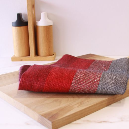 Towel 49x60 452s plummy stripes