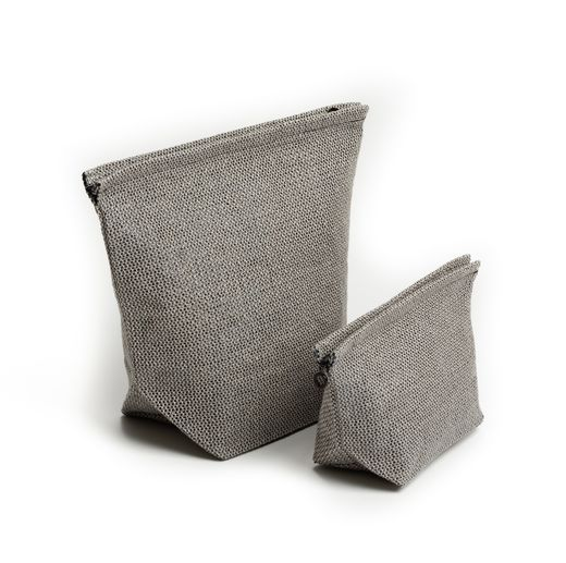 Pisa Design - Cosmetic bag, grey
